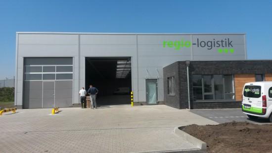Fertigstellung Bauvorhaben regio-logistik am AirportPark FMO in Greven