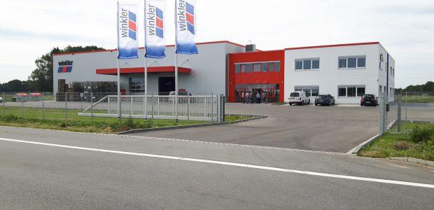 Fertigstellung Bauvorhaben Winkler Fahrzeugteile in Neumünster