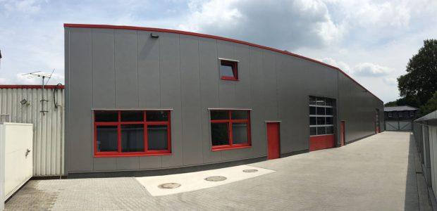 Fertigstellung Reifenlager & Tankstellenshop Fa. Everinghoff Schapen