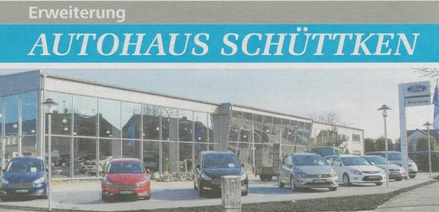 Anbau Autohaus Schüttken in Ibbenbüren abgeschlossen