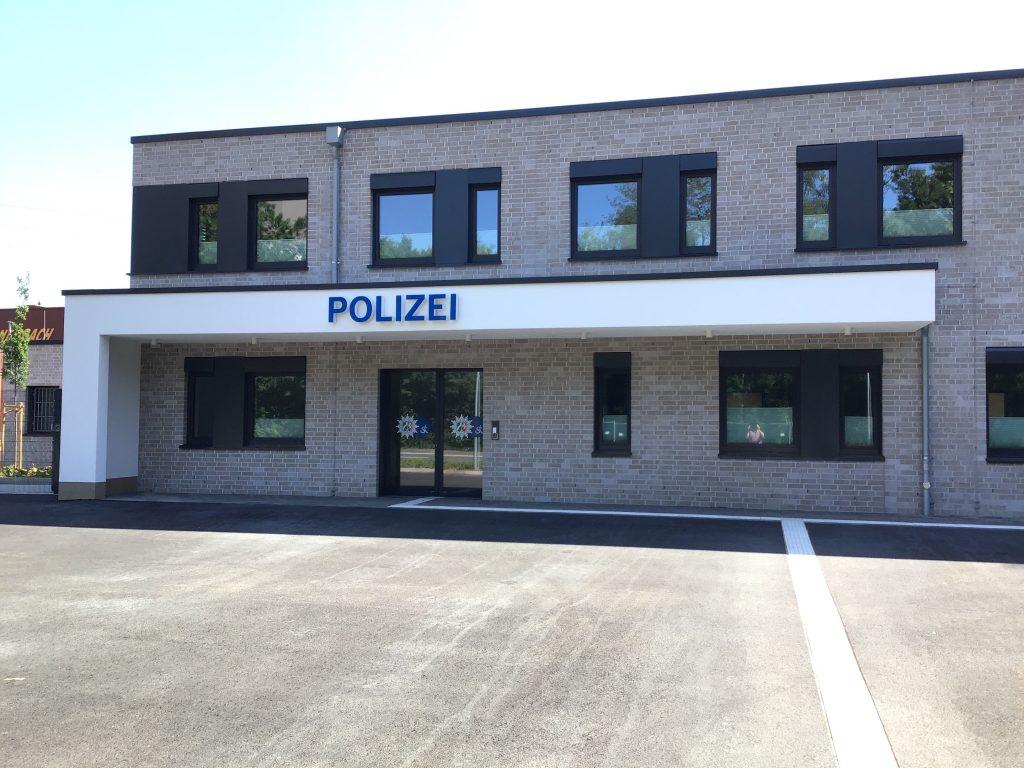 Fertigstellung: Polizei Ibbenbüren