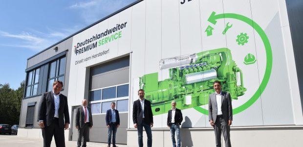 Offizielle Standorteröffnung Jenbacher Ibbenbüren